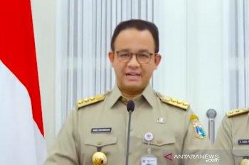 Gubernur Anies Baswedan resmi perpanjang PSBB Jakarta