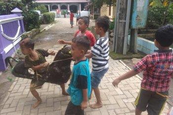 Permainan kuda lumping masih lestari  di pedalaman Pandeglang, Banten