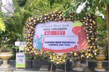 Gubernur Khofifah beikan ucapan selamat Hari Jadi Ke-727 Surabaya