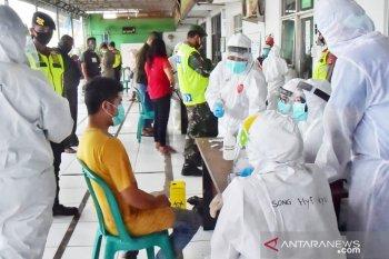 Hasil tes cepat di klaster Pasar Cileungsi enam orang reaktif COVID-19