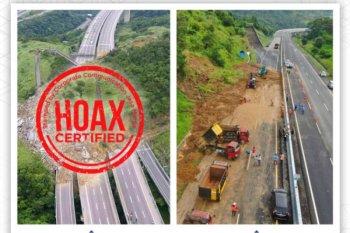 Foto longsor Tol Semarang-Solo beredar di medsos hoaks