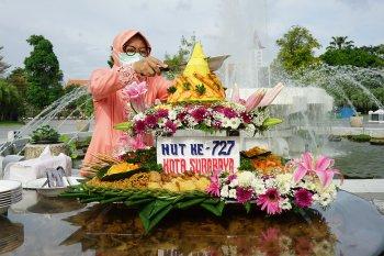 Perayaan HUT ke-727 Kota Surabaya digelar secara sederhana