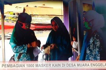 Berdayakan Masyarakat dan bagikan 1.000 masker kain