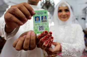 Di Aceh, 2.303 pasangan menikah saat pandemi COVID-19
