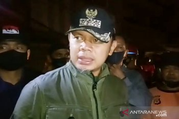 Bima Arya pimpin langsung penanganan kebakaran di Jembatan Merah Kota Bogor