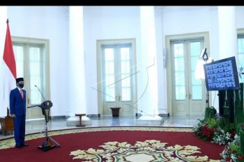 Presiden pimpin upacara virtual Hari Lahir Pancasila
