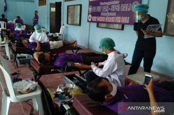 FSP Par-SPSI Bali  peduli COVID-19 dengan aksi donor darah
