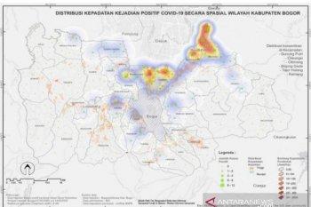 BIG luncurkan peta distribusi konsentrasi COVID-19 Bogor selama PSBB