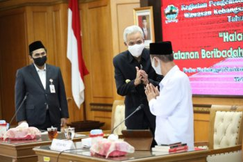 Central Java: Govt, ulemas mull new normal protocols for mosques