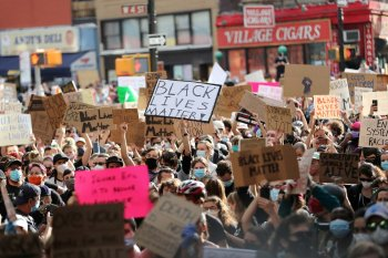 Gubernur New York minta demonstran jalani tes COVID-19