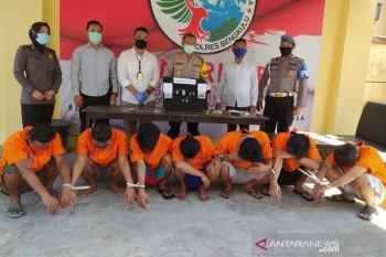 Polres Bengkulu tangkap 7 pengedar dan pengguna narkoba