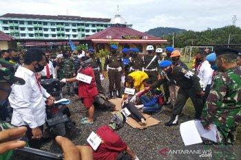 Polisi gelar rekonstruksi pembunuhan istri oknum TNI