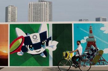 Panitia meniadakan acara hitung mundur Olimpiade Tokyo Jepang