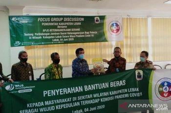 BPJS Ketenagakerjaan gelar FGD bersama Pemkab Lebak