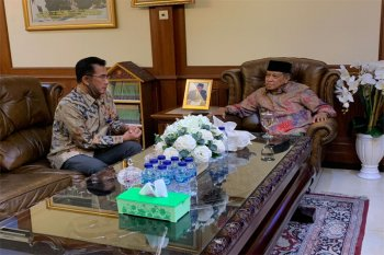 Ketua Umum PBNU Menerima Kunjungan Direktur Utama TVRI