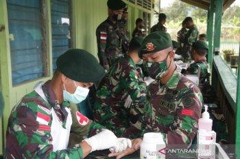 448 prajurit lerbatasan jalani rapid tes COVID-19