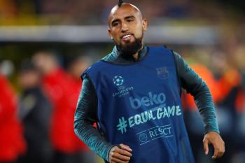 Vidal: Barca tak gentar hadapi Bayern