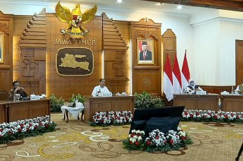 President Jokowi pushes for integrated handling of COVID-19 in East Java