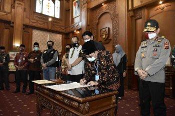 Forkopimda Jambi teken pernyataan sikap tolak peredaran gelap narkoba