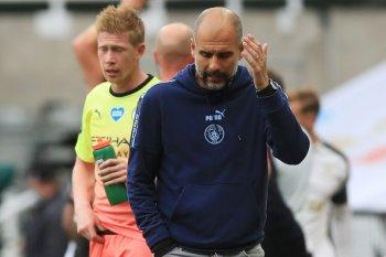 Manajer Pep Guardiola minta City dibangun lagi agar juara musim depan