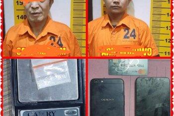 Seorang WNA asal Korea sedang pesta sabu-sabu ditangkap polisi