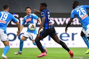 Atalanta hajar Napoli dua gol tanpa balas