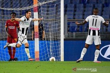 Udinese hantam harapan Roma untuk menembus zona Liga Champions