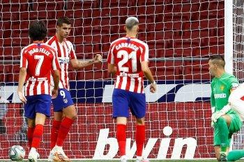 Atletico mantapkan posisi tiga besar usai bungkam Mallorca