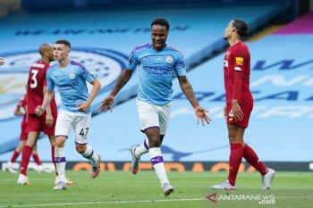 Gagal juara Liga Inggris, Sterling: bikin Man City semakin lapar