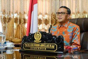 Gubernur Sulsel Nurdin Abdullah minta pemda tes cepat massal untuk warga bepergian