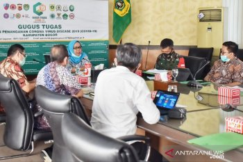 Ridwan Kamil apresiasi Gugus Tugas Bogor yang berhasil tekan angka penularan COVID-19
