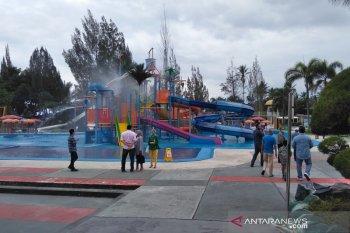 Objek wisata air Cipanas Garut dibuka untuk umum