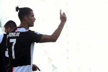 "Juve menangi ""derby della Mole"" untuk unggul tujuh poin dalam klasemen"