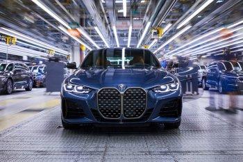 BMW  mulai produksi 4 Coupe