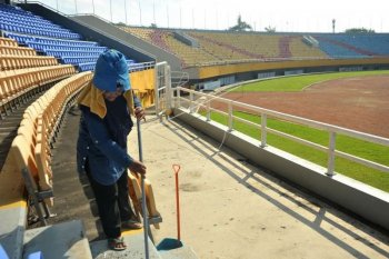Sumatera Selatan siap sediakan anggaran untuk perbaiki Stadion Jakabaring