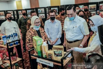 Wishnutama apresiasi partisipasi pelaku UMKM dalam gerakan #BanggaBuatanIndonesia