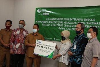 Setwan DPRD Banten bersyukur BPJAMSOTEK beri santunan kematian non ASN Rp42 juta