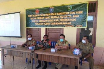 Sosialisasi Germas, program non fisik TMMD Reguler ke-108