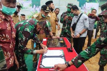 Pangdam II/Sriwijaya serahkan kawasan terpadu SAD ke Pemkab Sarolangun