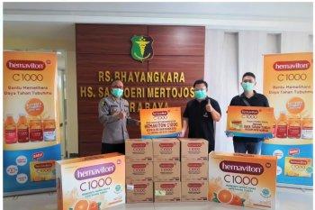 Sambut Hari Bhayangkara, Hemaviton donasikan dua Rumah Sakit Bhayangkara