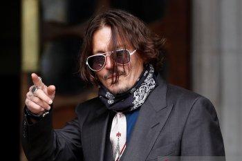 "Johnny Depp murka saat  tato ""Wino Forever"" ditertawakan Amber Heard"