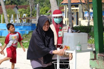 Penerapan protokol kesehatan di pulau terluar Lampung