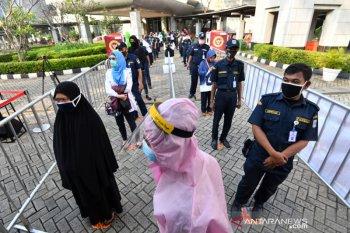 Di DKI Jakarta  Penambahan kasus COVID-19  tertinggi