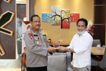 Kapolda - Bawaslu Malut bertemu bahas pengamanan pilkada serentak 2020
