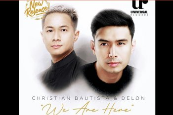 "Delon-Christian Bautista kolaborasi  di lagu ""We Are Here"""