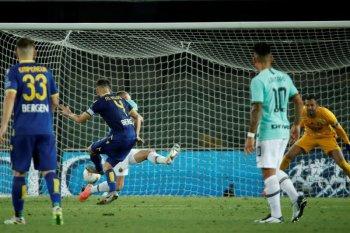 Inter kembali gagal petik poin maksimal setelah ditahan imbang Verona
