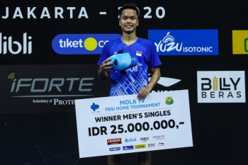 Ginting juarai turnamen internal PBSI