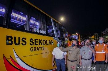 Pemkot Bogor targetkan 150 bus bantuan dapat angkut 4.500 penumpang KRL
