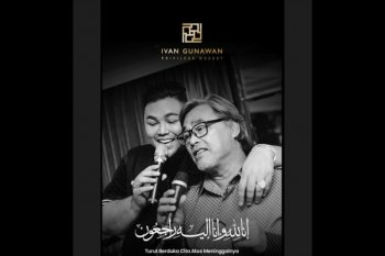 Kabar duka, Ayah presenter Ivan Gunawan meninggal dunia