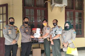 Polres Serang Kota terima bantuan alkes dari BPBD Kabupaten Serang